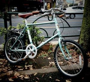 minivelo bruno choero ミニベロ ミキスト minovero20 mixte ブラック オシャレ 小径車 改造 カスタム かわいい 自転車