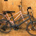 自転車に乗って散策に出かけよう!